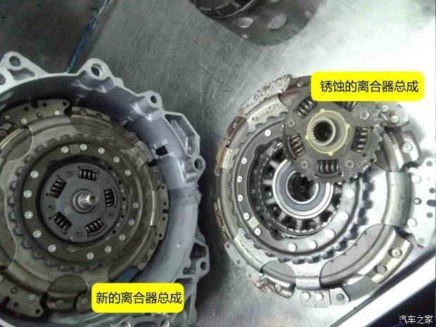 泡水汽车自动变速箱拆解过程