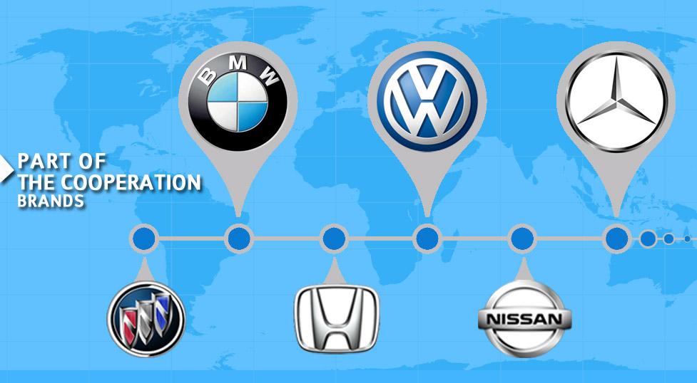 众多汽车厂商变速箱售后单位