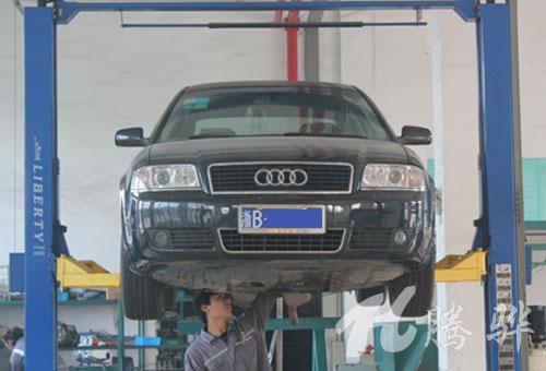 奥迪A6抖动怎么办 奥迪变速箱维修